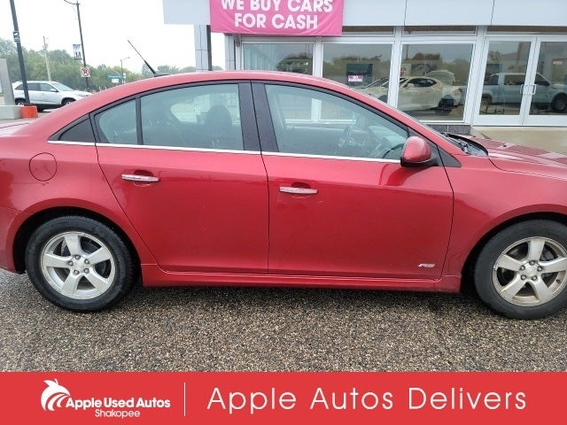 Used 2012 Chevrolet Cruze 1LT with VIN 1G1PF5SCXC7189116 for sale in Apple Valley, Minnesota