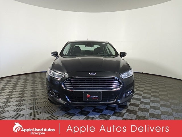 Used 2015 Ford Fusion Titanium with VIN 3FA6P0D92FR128088 for sale in Apple Valley, Minnesota