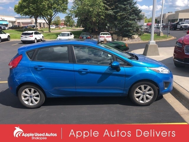 Used 2012 Ford Fiesta SE with VIN 3FADP4EJ3CM137785 for sale in Apple Valley, Minnesota
