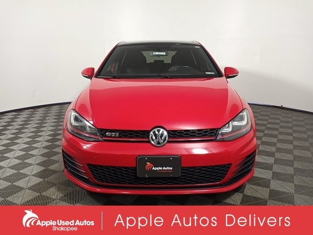 Used 2015 Volkswagen Golf GTI SE with VIN 3VW5T7AU1FM033843 for sale in Apple Valley, Minnesota